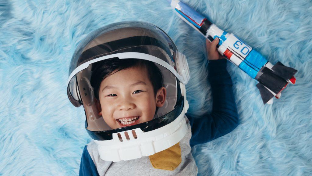 enfant fusée transformation